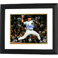 417d742a0a5 John Wetteland signed New York Yankees 8x10 Photo Custom Framed WS MVP 96  Horizontal pitching