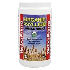 Yerba Prima Psyllium Whole Husks 12-ounce