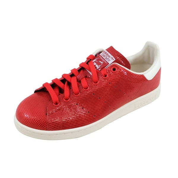 Adidas Women's Stan Smith Red/Red-White M20810