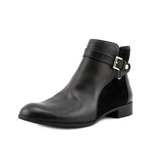 Anne Klein Karlie Women Round Toe Synthetic Ankle Boot