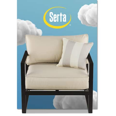"Serta Catalina Outdoor 34"" Arm Chair"