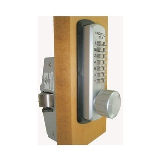 Lockey 310P  3000 Series Heavy Duty Keyless Entry Mechanical Knob Set - Satin Chrome