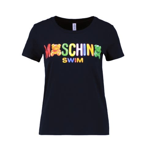 Moschino Swim Women's Gummy Teddy Bear T-Shirt - Black - Small