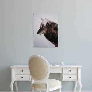 Easy Art Prints Andreas Lie's 'Wolf' Premium Canvas Art