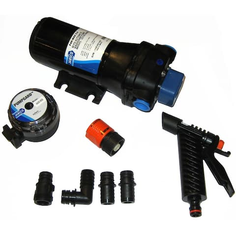 Jabsco parmax 5 washdown pump 5.0 gpm 12v 50 psi