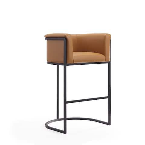 Ceets Leather Contemporary Cosmopolitan Bar Stool