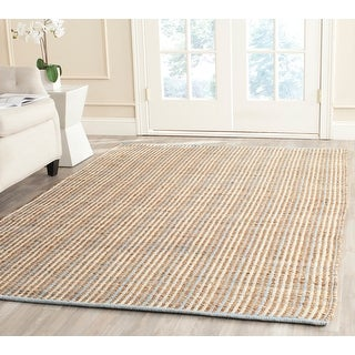 Link to Safavieh Handmade Cape Cod Lassie Coastal Jute Rug Similar Items in Transitional Rugs