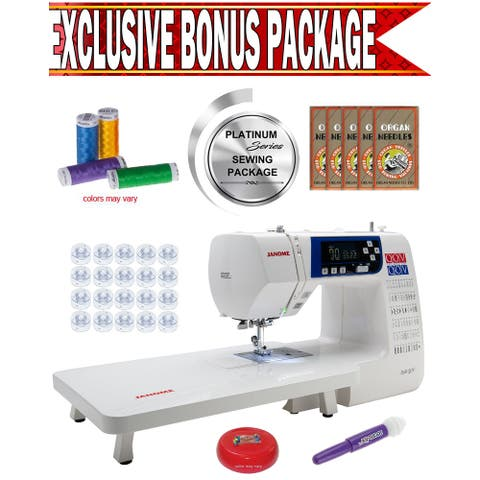 Janome 3160QOV Quilts of Valor Sewing & Quilting Machine w/ Exclusive Platinum Series Sewing Package!