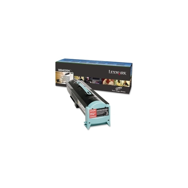 Lexmark W84020H Lexmark Black Toner Cartridge - Black - Laser - 30000 Page - 1 Each