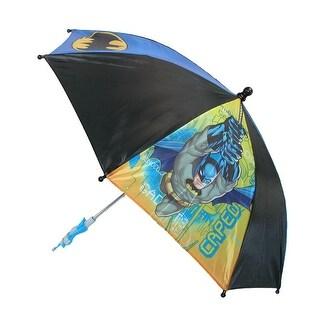 DC Comics Kids' Batman Umbrella - batman on motorcycle - One Size