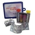 Deluxe 2-Way Swimming Pool Test Tablet Kit with Case - Tests pH and Chlorine - Thumbnail 0