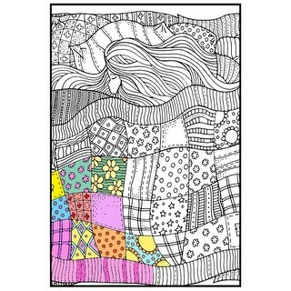 "Joy Of Coloring Adult Coloring Poster 24""X36"" 1/Pkg-Sweet Dreams"