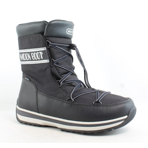 c2b1216ee9a Shop Moon Boot Mens Lem Black Snow Boots Size 10.5 - Free Shipping ...