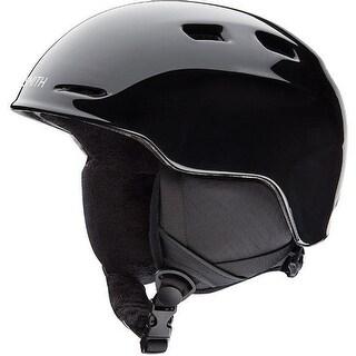 Smith Optics Zoom Jr. Snow Helmet (Black/Youth Small) - Black