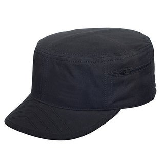 Cadet Brushed Canvas Army Cap