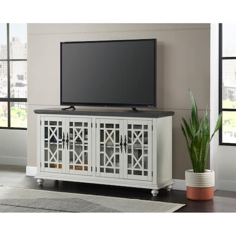 Elegant White and Grey TV Stand by Martin Svensson Home