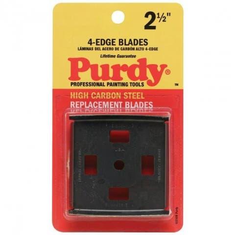 "Purdy 144900535 Heavy-duty 4-Edge Carbide Scraper, High Carbon Steel, 2-1/2"""