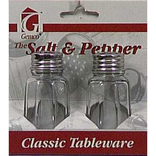 Lifetime 5078608 Salt & Pepper Set, 1 Oz, Clear Glass|https://ak1.ostkcdn.com/images/products/is/images/direct/e7ad579837fd2e4ac9f1609f8f4bb7e641572add/Lifetime-5078608-Salt-%26-Pepper-Set%2C-1-Oz%2C-Clear-Glass.jpg?impolicy=medium