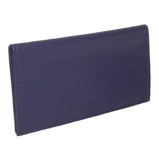 CTM® Women's Leather Fashion Checkbook Cover - One size