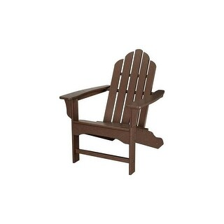 Hanover Outdoor HVLNA10MA All-Weather Contoured Adirondack Chair - Mahogany