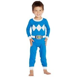 Intimo Boys' Toddler' Mighty Morphin Blue Ranger Pajama Set