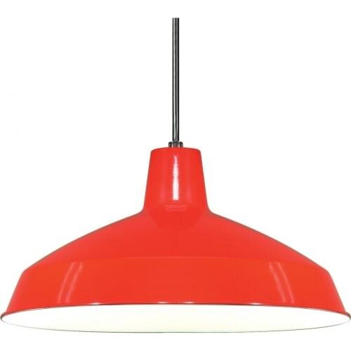 "Nuvo Lighting 76/663 Single Light 16"" Pendant with Warehouse Shade"
