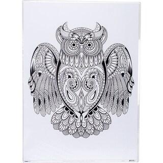 """Kaisercolour Coloring Poster 27""""X19""""-Owl"""