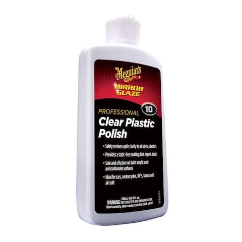 Meguiar's #10 Clear Plastic Polish - 8oz