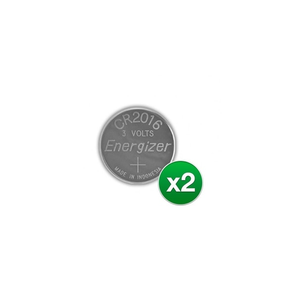 Replacement Battery for Energizer CR2016VP (2-Pack) Replacement Battery