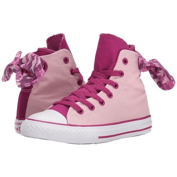 c5d409e191 Shop Kids Converse Girls Chuck Taylor All Star Bow Back Hight Top ...