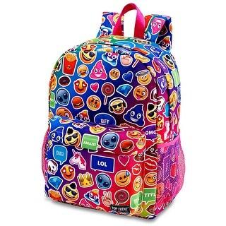Multi Mojicon Funk 2 Zipper Backpack