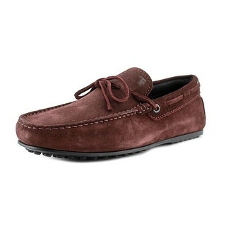 Tod's Morsetto Selleria City Gommino Youth Square Toe Leather Brown Loafer