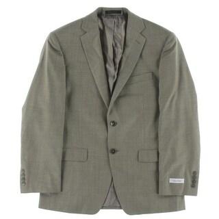 Calvin Klein Mens Blazer Regular Fit Solid - 38/32