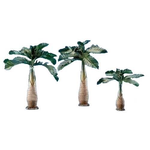 5 inch Palm Trees Set of 3