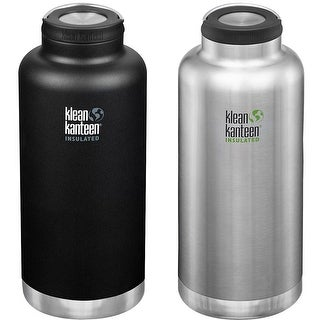 Link to Klean Kanteen 64 oz. TKWide Insulated Stainless Steel Bottle with Wide Loop Cap Similar Items in Glasses & Barware