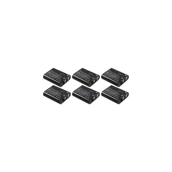 Replacement Battery For Panasonic KX-FPG377 / KX-TG2239 Phone Models (6 Pack)
