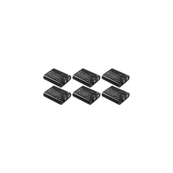 Replacement Panasonic HHR-P402 NiCD Cordless Phone Battery (6 Pack)