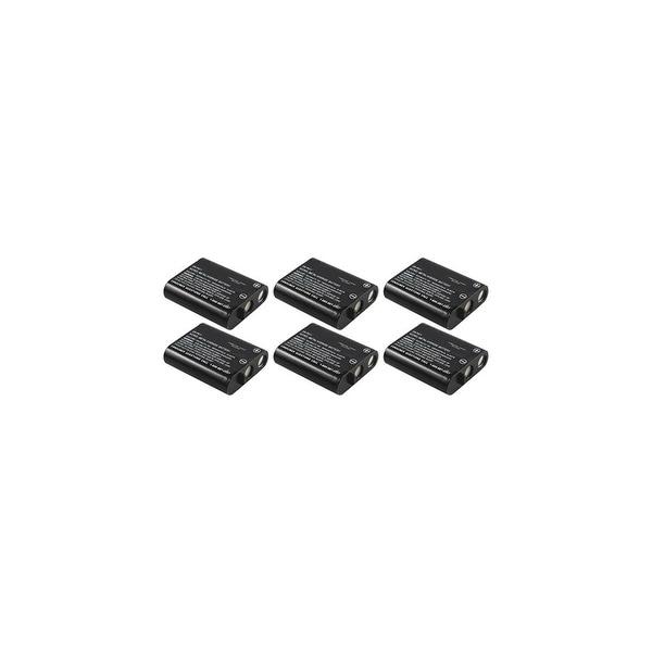 Replacement Panasonic KX-TG5100M NiCD Cordless Phone Battery (6 Pack)