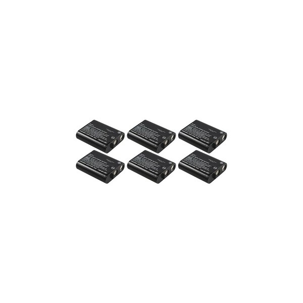 Replacement Panasonic P-P511A NiCD Cordless Phone Battery (6 Pack)