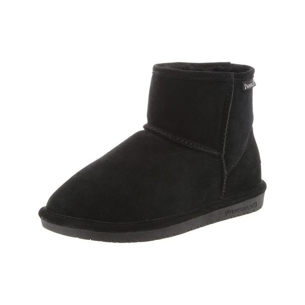 Bearpaw Boots Womens Comfortable Demi Suede Wool