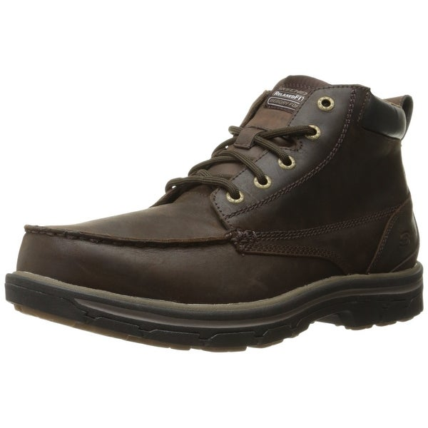 Exclusive Mens Ankle Boots Skechers Relaxed Fit Segment