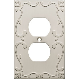 Link to Franklin Brass W35071-C Classic Lace Single Duplex Outlet Wall Plate Similar Items in Lighting Components