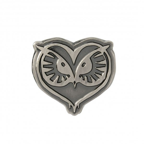 Harry Potter Fantastic Beasts Pewter Lapel Pin Owl Head