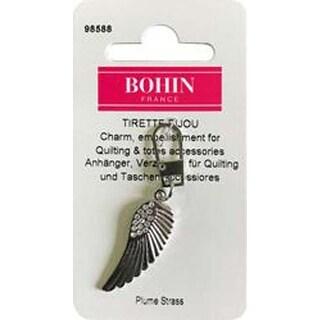 White Feather - Bohin Decorative Charm