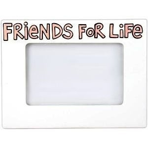 Friends for Life Personalized Picture Frame by Our Name is Mud