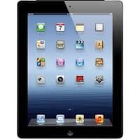 """Apple iPad 3 MD367LL/A 32GB Wifi + 4G Unlocked 9.7"""",Black(Certified Refurbished)"""
