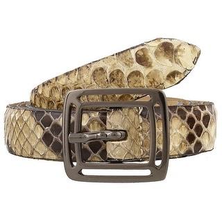 Renato Balestra Coronella Python Leather Womens Belt