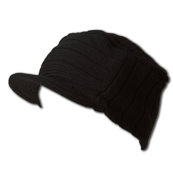 Shop Flat Top Cap w  Visor (Jeep Cap)-Black - Free Shipping On Orders Over   45 - Overstock - 20668673 6cdae7538c9d