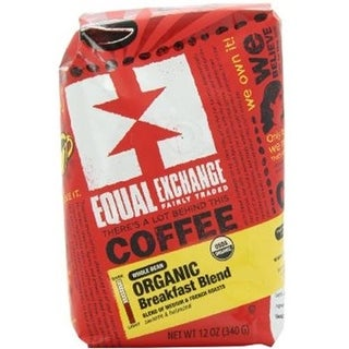 Equal Exchange - Whole Bean Breakfast Blend Coffee ( 6 - 12 OZ)