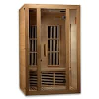 Maxxus 2 person Infrared reforested Canadian Hemlock Wood Sauna / MX-J206-01